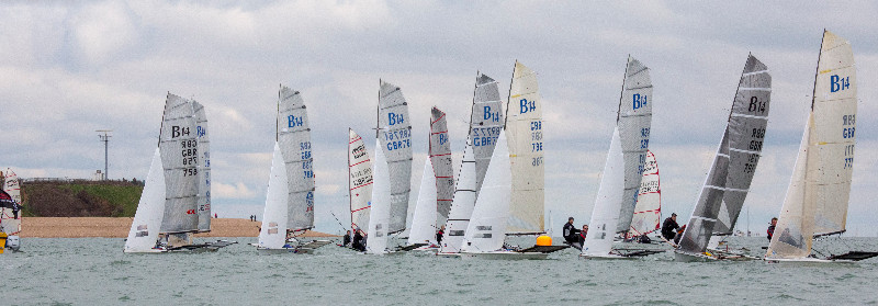B14s Line up for the start